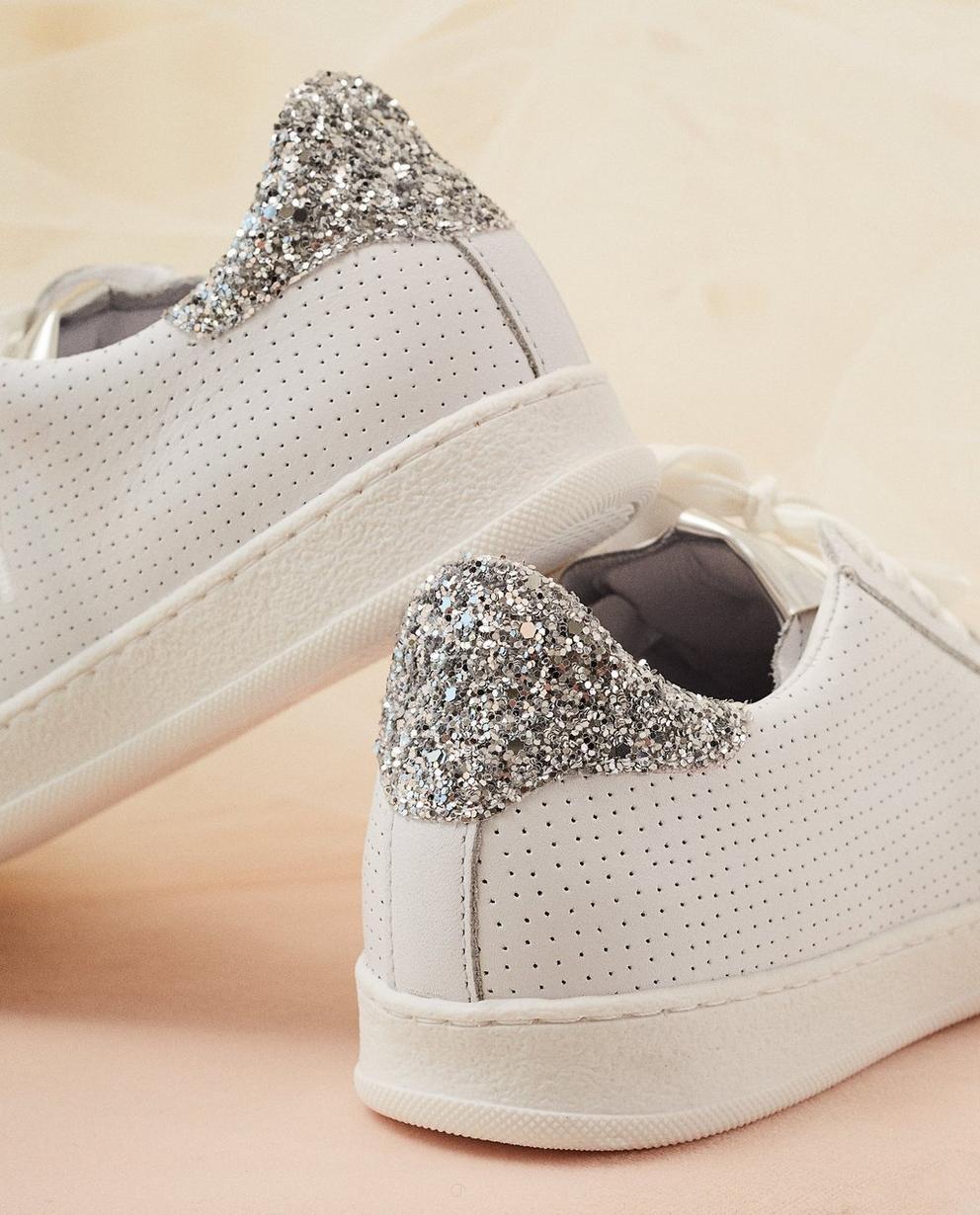 Schuhe - Weiss - Weiße Sneaker, Größe 30-37